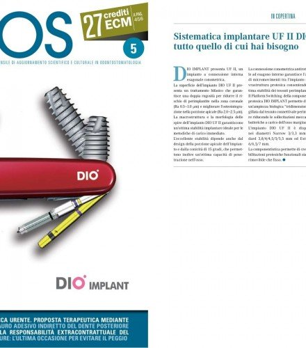 DOCTOR OS Maggio 2015 N. 5